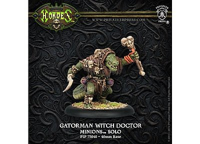 Hordes Minion: Gatorman Witch Doctor