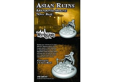 Wyrdscapes: Asian Ruins 50MM III Base (Abandoned Shrine)