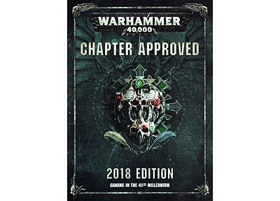 Chapter Approved 2018 Edition (English) 12月15日発売