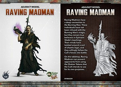 Cult of the Burning Man: Raving Madman