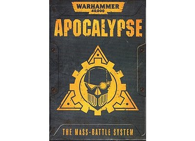 Warhammer 40,000: Apocalypse (English) 6月8日発売