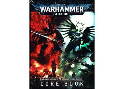 Warhammer 40,000 Core Rule Book (English)